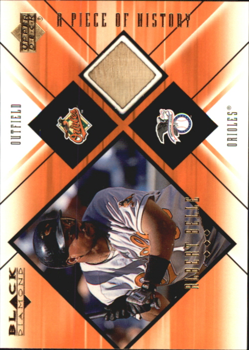 2000 Black Diamond A Piece of History #AB Albert Belle