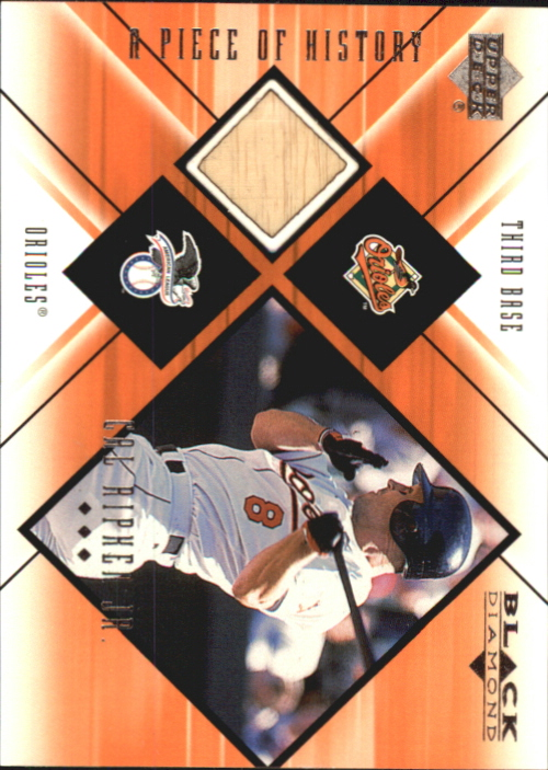 2000 Black Diamond A Piece of History #CAL Cal Ripken