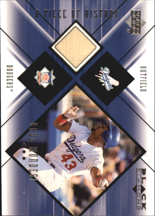 2000 Black Diamond A Piece of History #RM Raul Mondesi