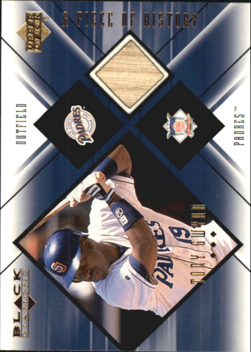 2000 Black Diamond A Piece of History #TG Tony Gwynn