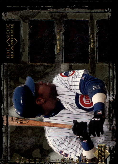 2000 Black Diamond Rookie Edition Gallery #G1 Sammy Sosa