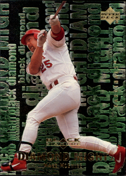 2000 Black Diamond Rookie Edition Might #M1 Mark McGwire
