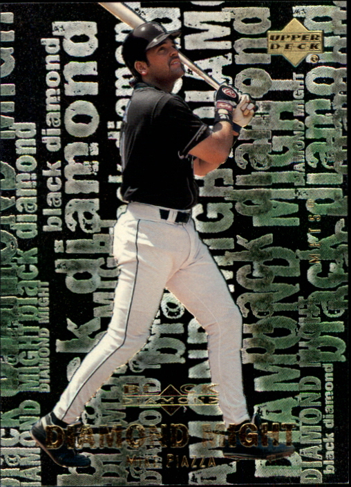 2000 Black Diamond Rookie Edition Might #M2 Mike Piazza