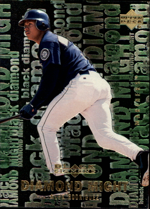 2000 Black Diamond Rookie Edition Might #M6 Alex Rodriguez