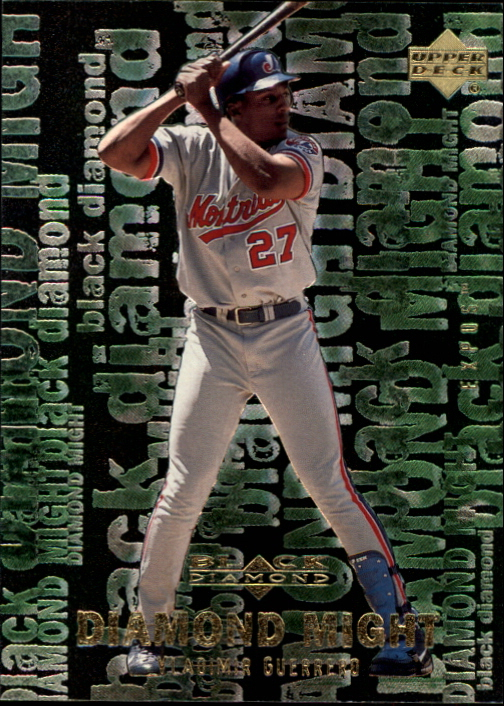 2000 Black Diamond Rookie Edition Might #M8 Vladimir Guerrero