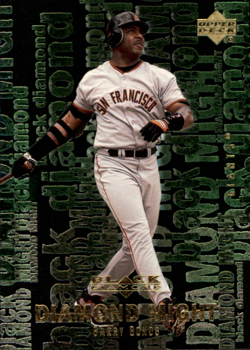 2000 Black Diamond Rookie Edition Might #M9 Barry Bonds
