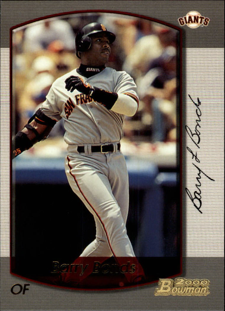 2000 Bowman #60 Barry Bonds
