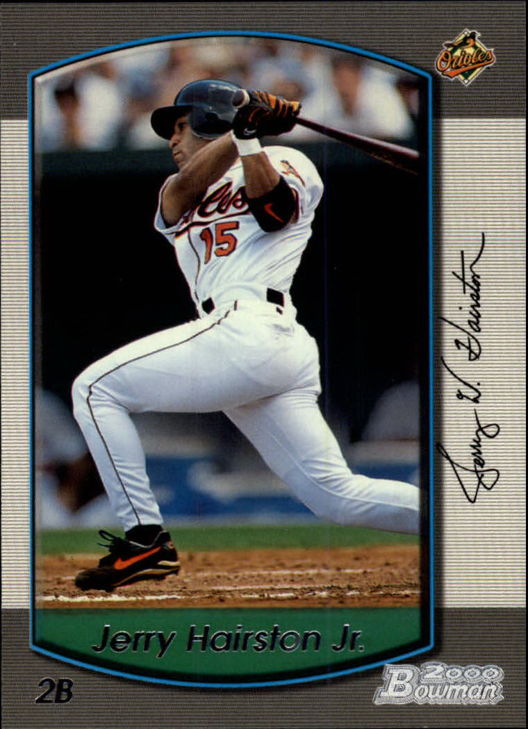 2000 Bowman #286 Jerry Hairston Jr.