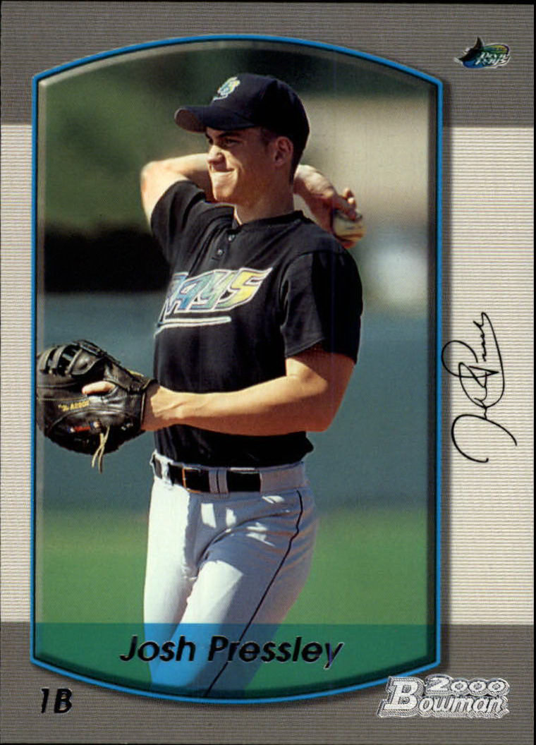 2000 Bowman #342 Josh Pressley RC