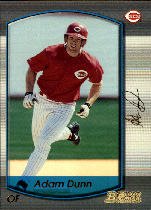 2000 Bowman Gold #385 Adam Dunn