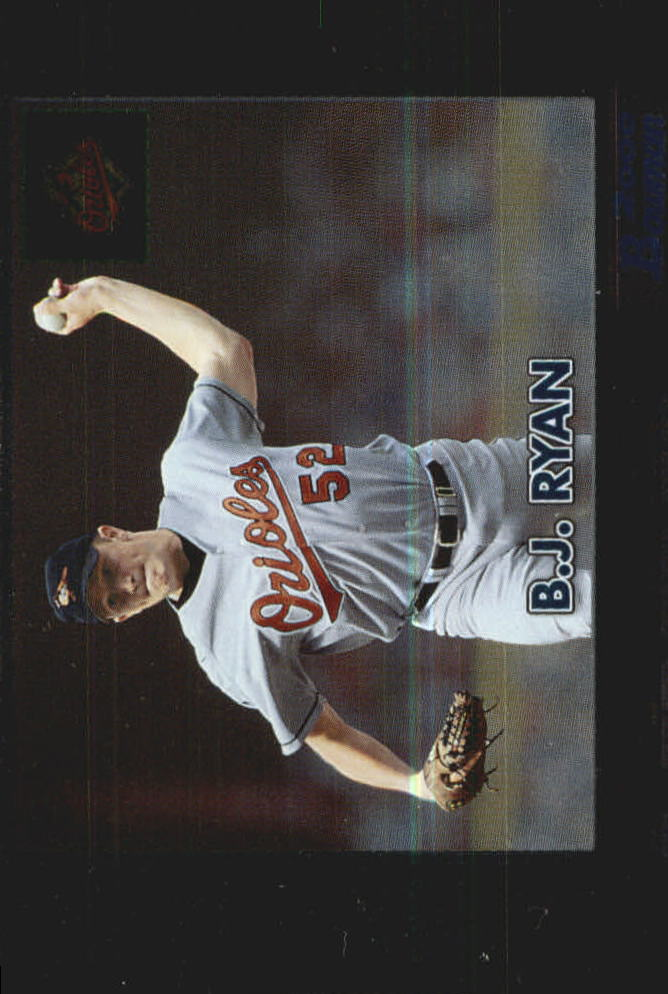2000 Bowman Retro/Future #295 B.J. Ryan