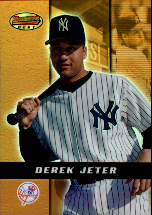 2000 Bowman's Best Previews #BB1 Derek Jeter