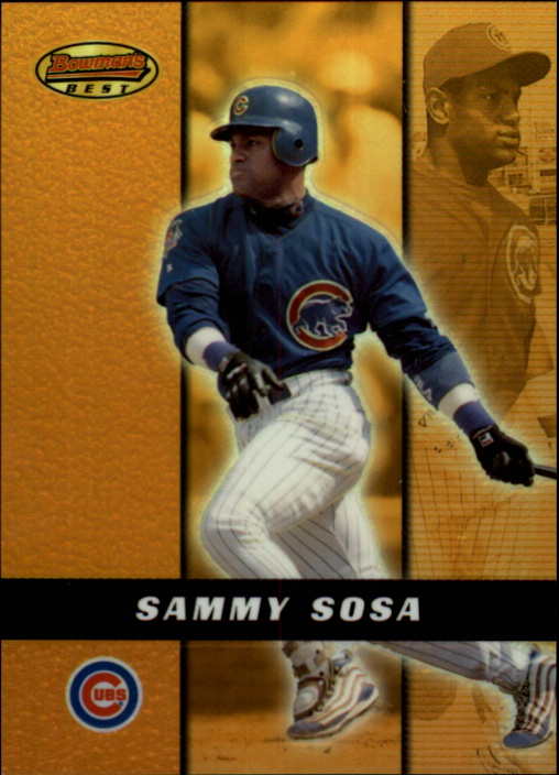 2000 Bowman's Best Previews #BB6 Sammy Sosa