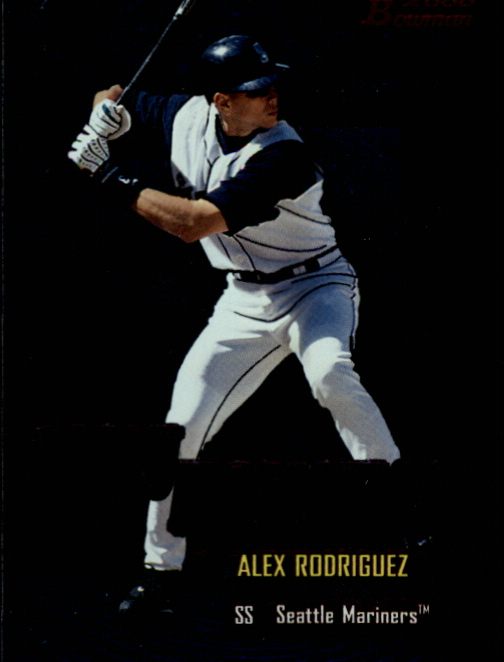 2000 Bowman Early Indications #E5 Alex Rodriguez