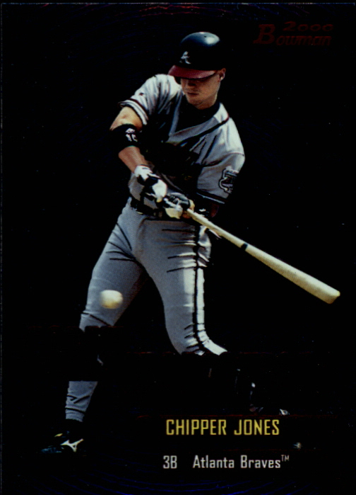 2000 Bowman Early Indications #E6 Chipper Jones