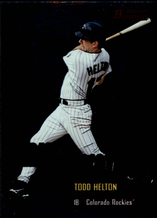2000 Bowman Early Indications #E7 Todd Helton