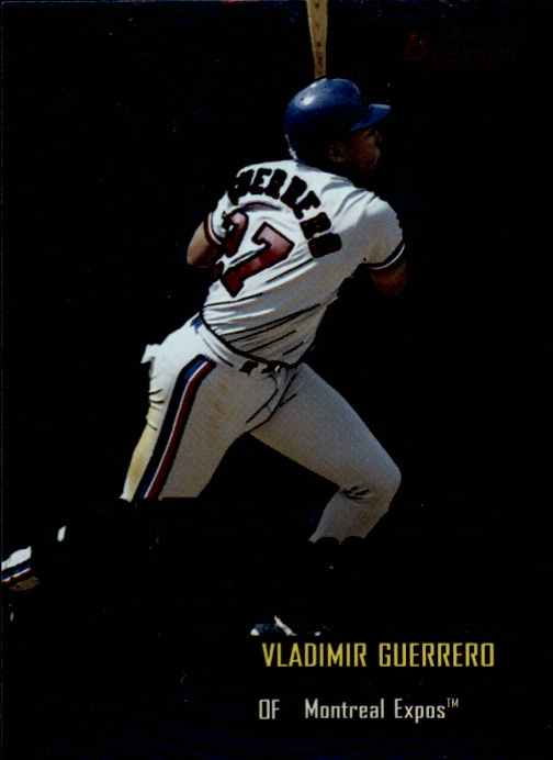 2000 Bowman Early Indications #E8 Vladimir Guerrero