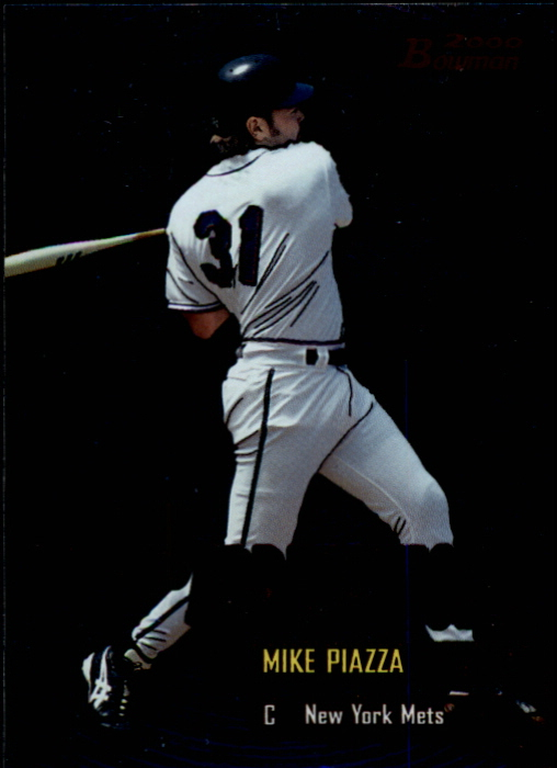 2000 Bowman Early Indications #E9 Mike Piazza