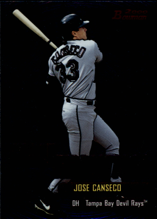 2000 Bowman Early Indications #E10 Jose Canseco