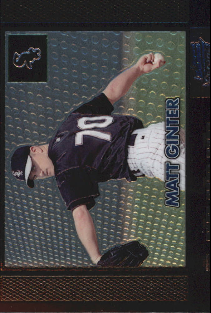 2000 Bowman Chrome Retro/Future #153 Matt Ginter