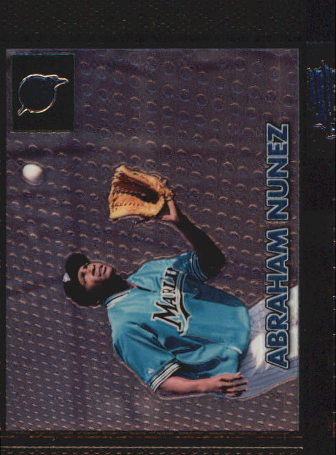 2000 Bowman Chrome Retro/Future #382 Abraham Nunez