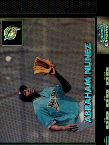 2000 Bowman Chrome Retro/Future Refractors #382 Abraham Nunez