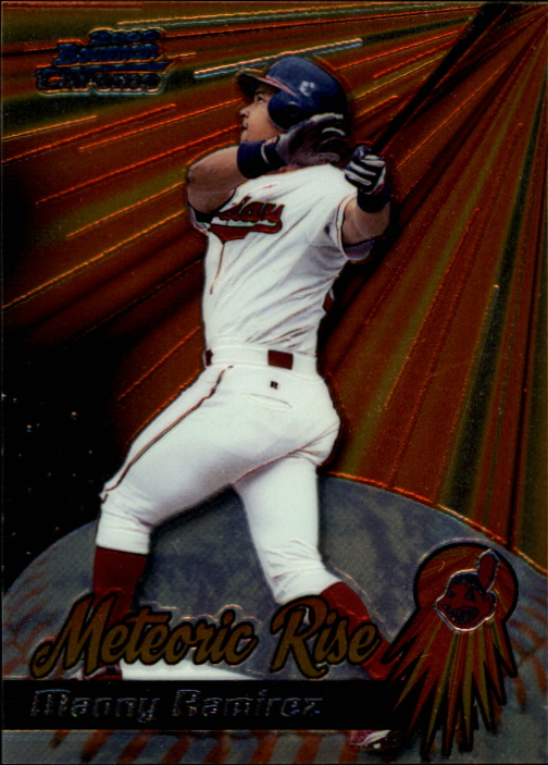 2000 Bowman Chrome Meteoric Rise #MR5 Manny Ramirez