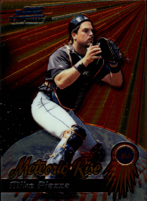 2000 Bowman Chrome Meteoric Rise #MR6 Mike Piazza