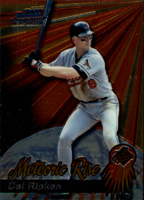 2000 Bowman Chrome Meteoric Rise #MR7 Cal Ripken