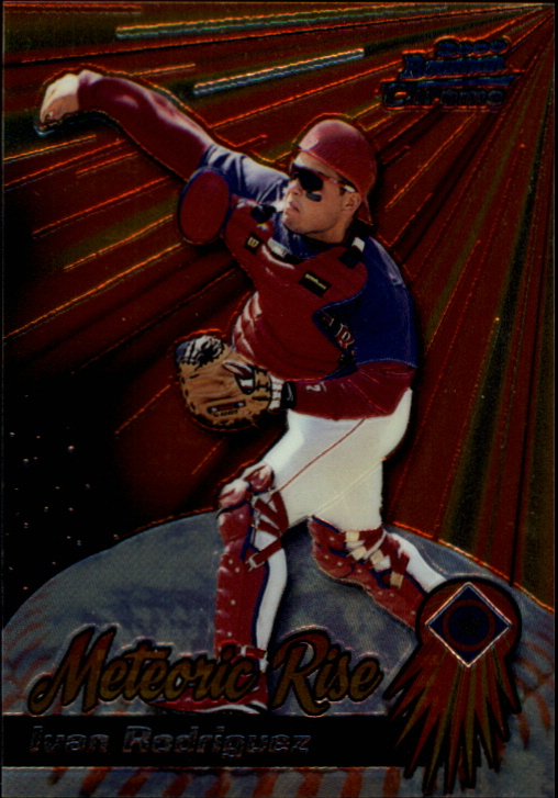2000 Bowman Chrome Meteoric Rise #MR8 Ivan Rodriguez