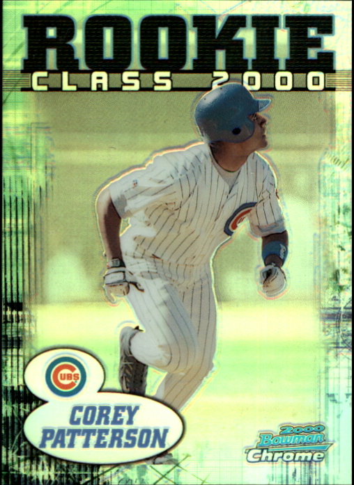 2000 Bowman Chrome Rookie Class 2000 Refractors #RC8 Corey Patterson