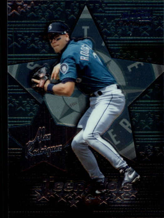 2000 Bowman Chrome Teen Idols #TI1 Alex Rodriguez