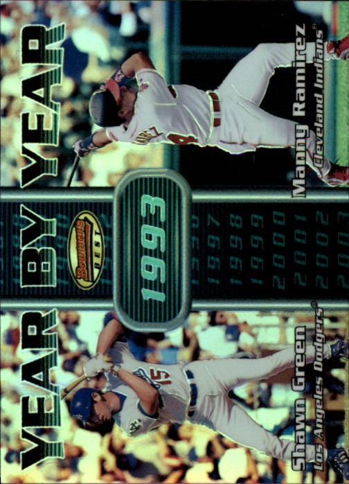 2000 Bowman's Best Year by Year #YY10 S.Green/M.Ramirez