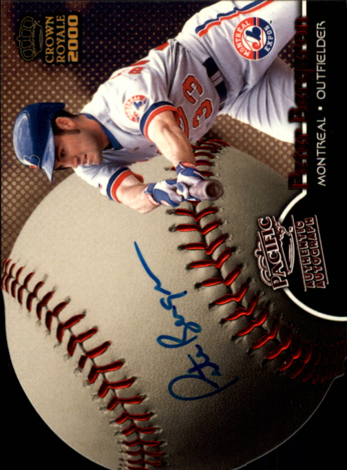 2000 Crown Royale Sweet Spot Signatures #16 Peter Bergeron