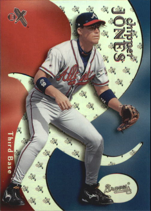 2000 E-X #10 Chipper Jones