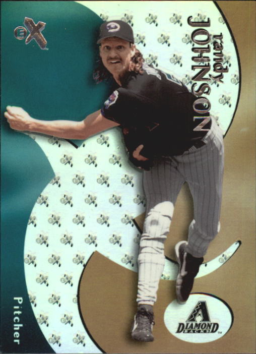 2000 E-X #21 Randy Johnson
