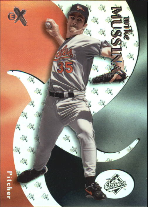 2000 E-X #33 Mike Mussina