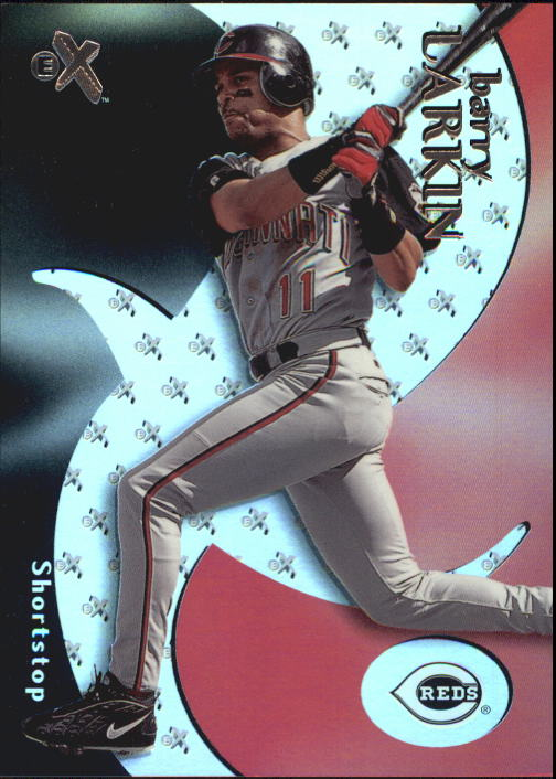2000 E-X #36 Barry Larkin