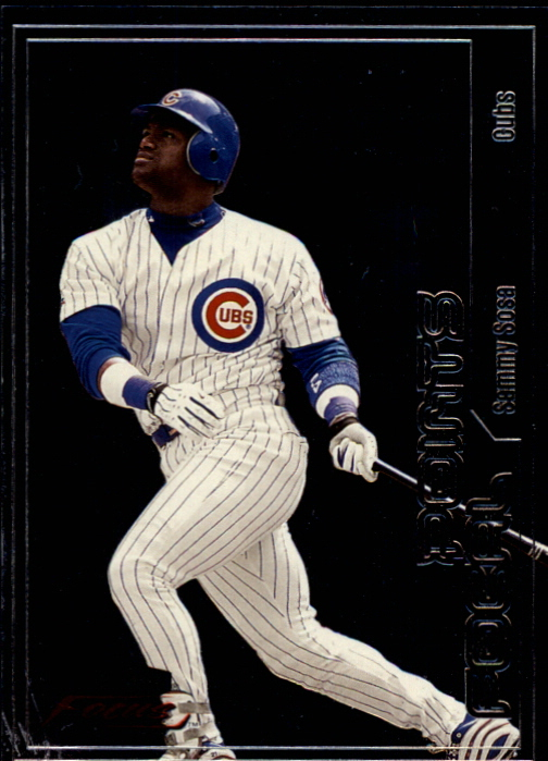 2000 Fleer Focus Focal Points #F14 Sammy Sosa