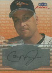 2000 Fleer Focus Fresh Ink #41 Cal Ripken