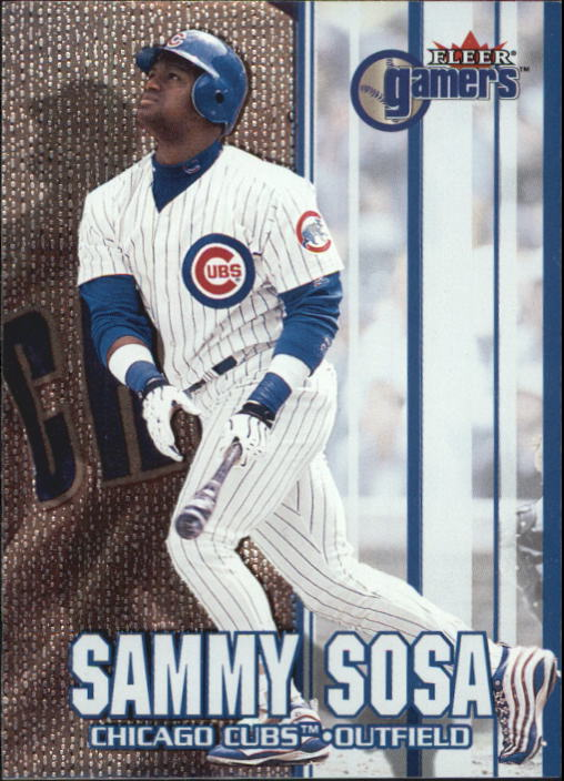 2000 Fleer Gamers #11 Sammy Sosa