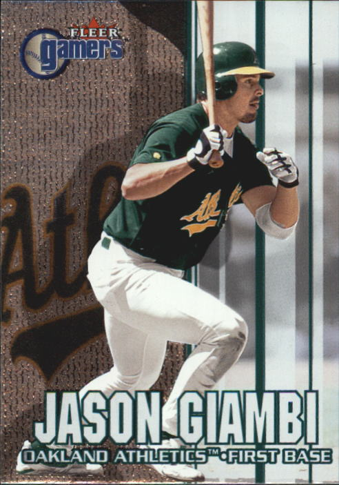 2000 Fleer Gamers #21 Jason Giambi