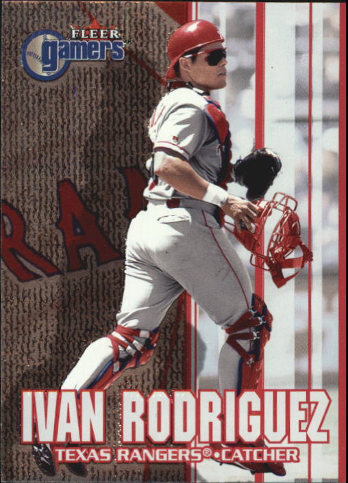 2000 Fleer Gamers #22 Ivan Rodriguez