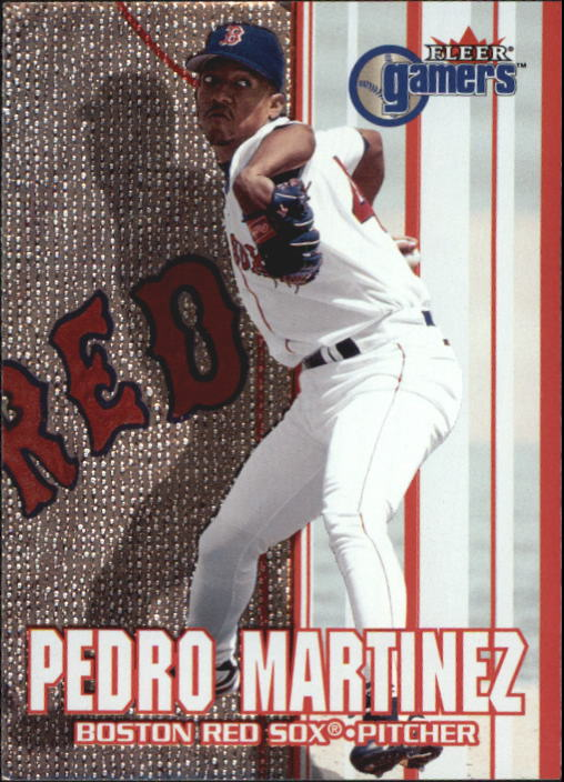 2000 Fleer Gamers #32 Pedro Martinez