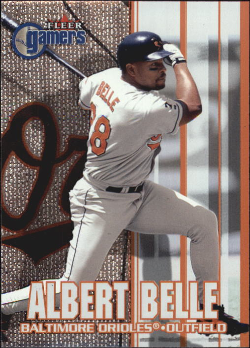 2000 Fleer Gamers #34 Albert Belle
