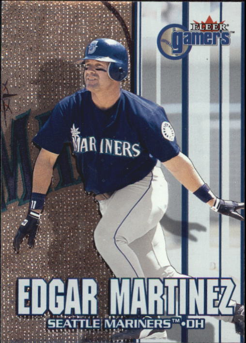 2000 Fleer Gamers #37 Edgar Martinez