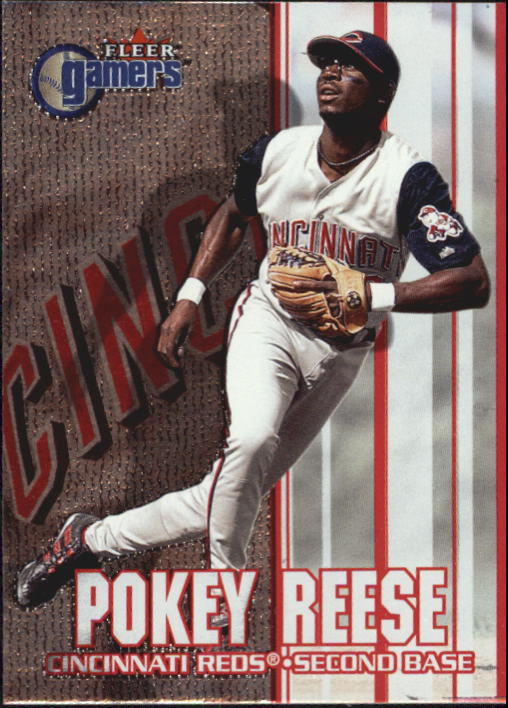 2000 Fleer Gamers #38 Pokey Reese