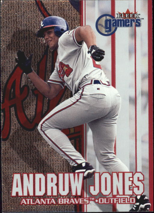 2000 Fleer Gamers #41 Andruw Jones