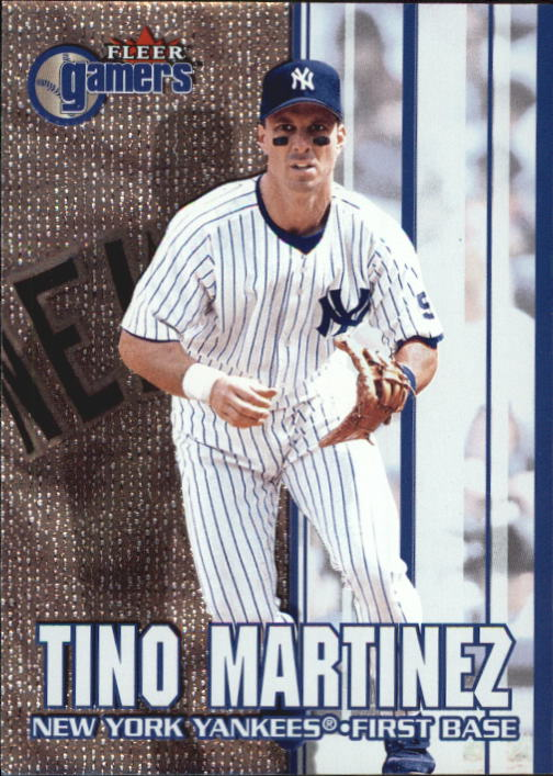 2000 Fleer Gamers #57 Tino Martinez