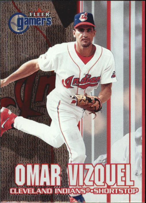 2000 Fleer Gamers #60 Omar Vizquel
